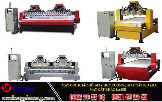 Các dòng máy đục gỗ CNC có thật sự mang lại hiệu quả làm việc?