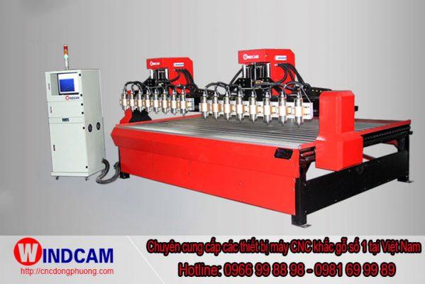 Máy CNC đục gỗ giải pháp làm việc hiệu quả cho người thợ mộc