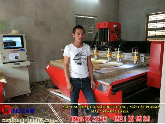 Hình ảnh thực tế về khách hàng đã sử dụng máy của Đông Phương - Hà Nội