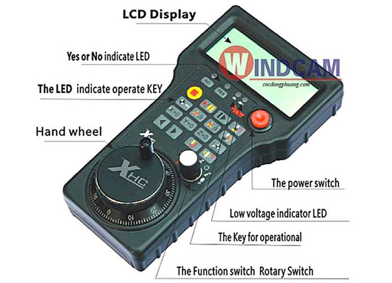 bộ điều khiển máy cnc không dây