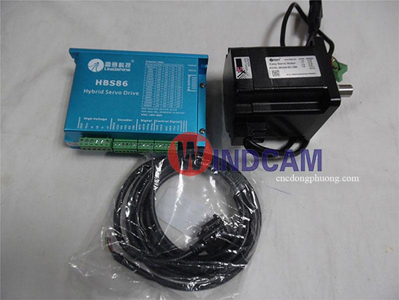 bộ hybrid servo 86HS40 EC 1000