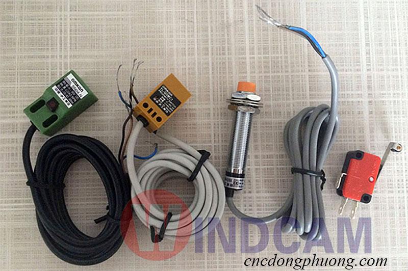 Các loại cảm biến tiệm cận máy khắc CNC