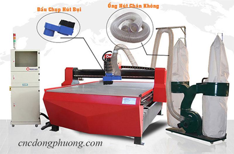 Cách lắp đặt máy hút bụi công nghiệp 2 túi vải