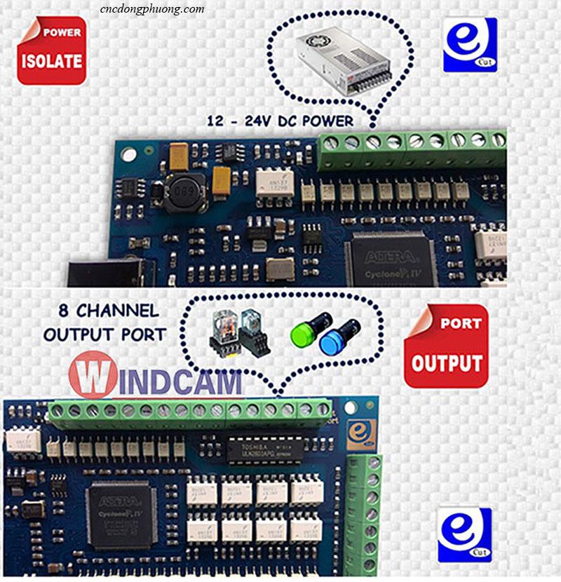 card M3 điều khiển máy khắc cnc
