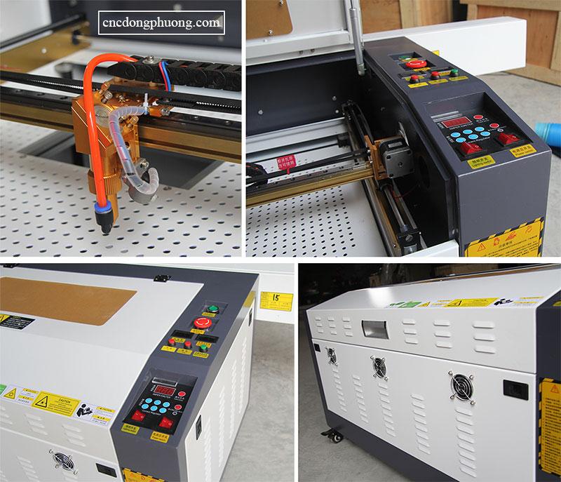 chi tiết máy laser chuyên cắt khắc 6040
