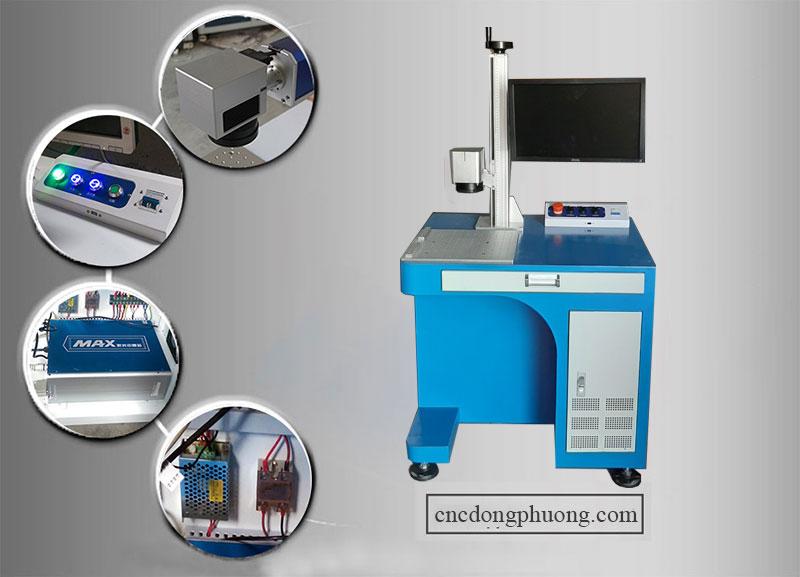 chi tiết máy laser fiber 20w