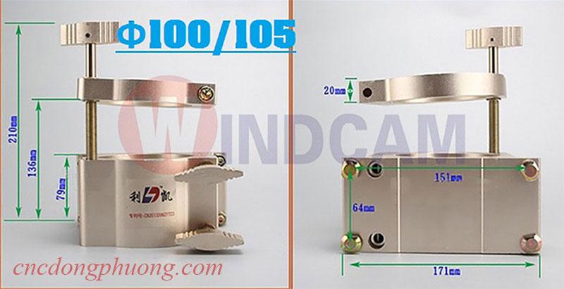 Gá kẹp nâng hạ củ đục đường kính 100 - 105 mm
