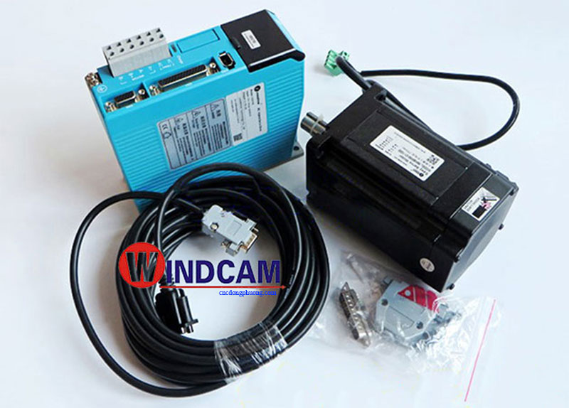 hybrid servo motor 86HBM80 100 AC hydrid servo driver HBS 758