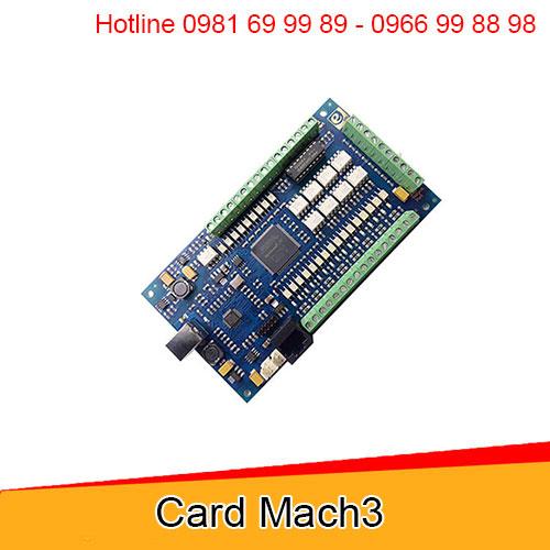 Card Mach3 điều khiển máy cnc