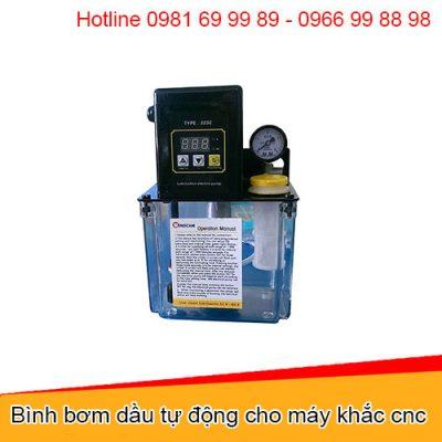 Bình bơm dầu tự động cho máy khắc cnc