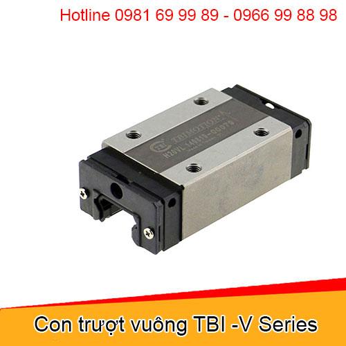 Con trượt vuông TBI -V Series