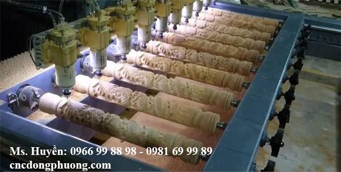 Máy CNC đục tượng 10 đầu 2Z Đông Phương Hà Nội