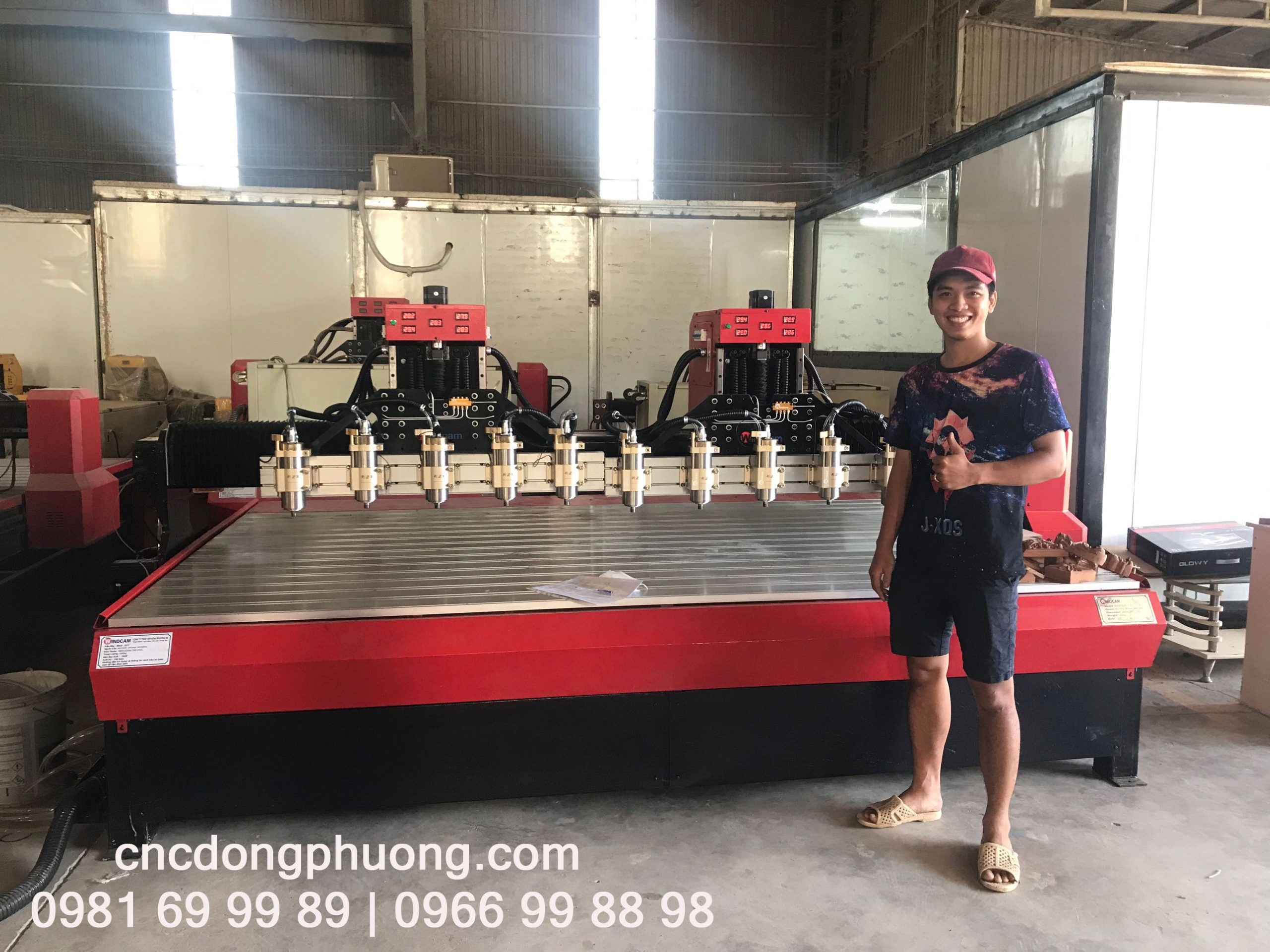 Máy CNC đục gỗ 3217-10-2Z
