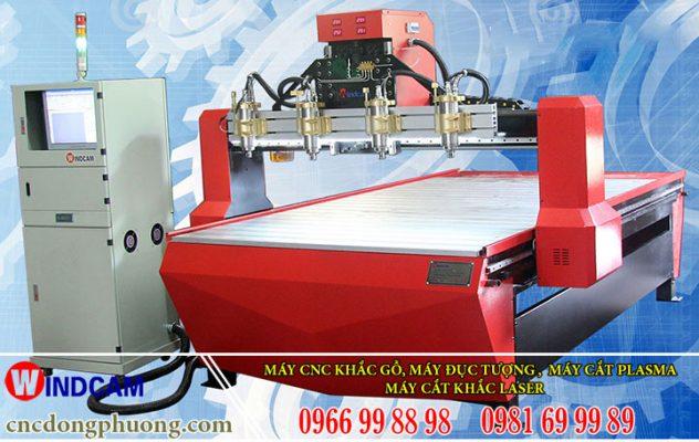 Dòng máy đục gỗ cnc 3wind 1325-4 của Đông Phương Hà Nội