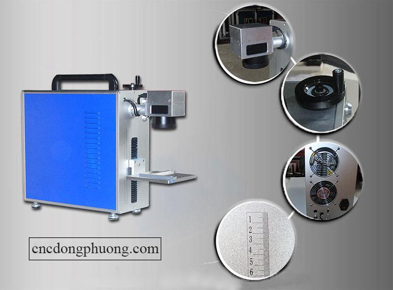 máy fiber laser khắc kim loại chính hãng