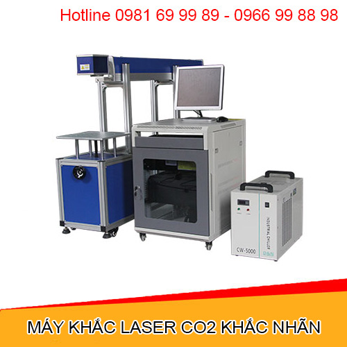 Máy khắc laser CO2 khắc nhãn