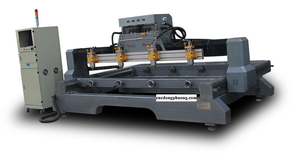Máy CNC đục tượng 4 đầu Đông Phương