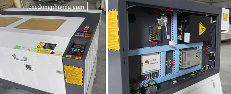 máy laser C02 1060 chính hãng