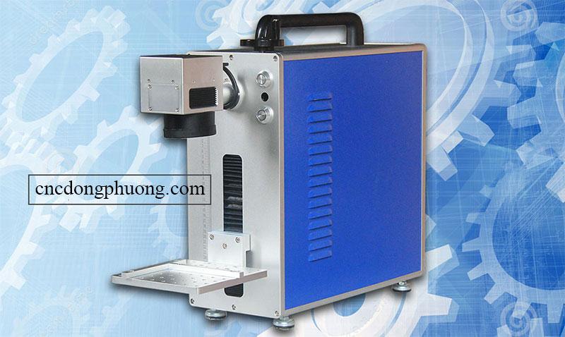 máy laser fiber mini khắc kim loại chất lượng cao
