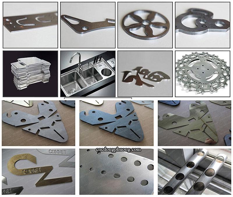 sản phẩm ứng dụng máy cắt laser fiber chất lượng cao