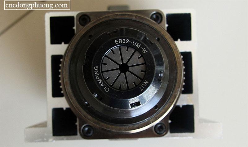 spindle làm mát bằng gió ER-32 củ 4,5kw
