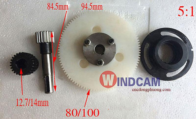 cấu tạo của bộ hộp số bánh răng nhựa máy cnc