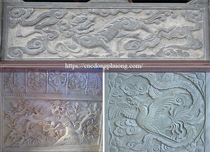 ứng dụng của máy cnc điêu khắc đá 1212