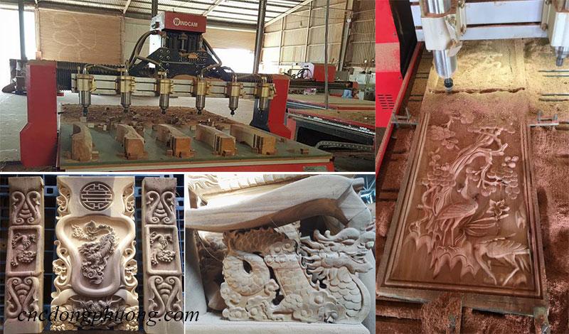 ứng dụng của máy cnc đục gỗ 2225-6