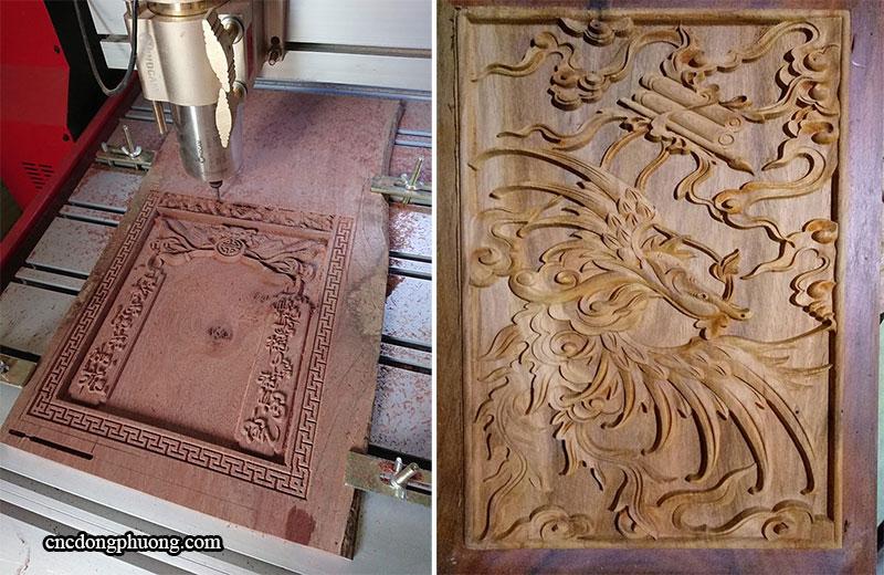 ứng dụng của máy cnc gỗ
