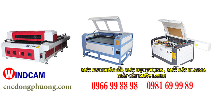 Các dòng máy cắt khắc laser phi kim phổ biến hiện nay