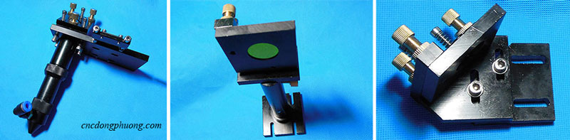gá đỡ gương thấu kính laser CO2