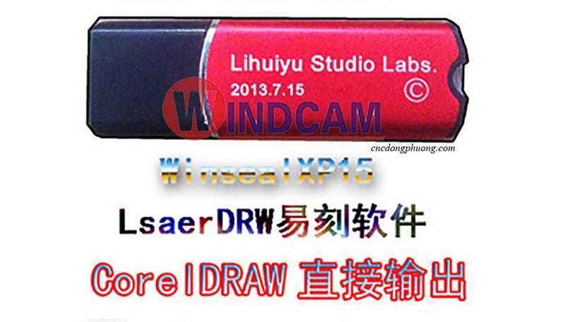 khóa phần mềm máy khắc laser màu đỏ