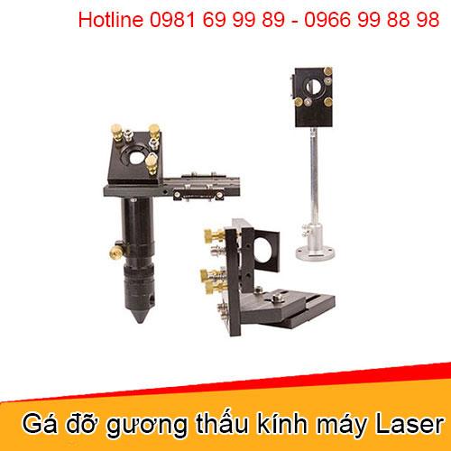 Gá đỡ gương thấu kính máy Laser