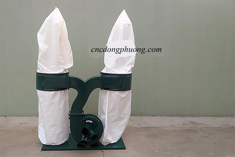máy hút bụi công nghiệp hai túi vải giá rẻ