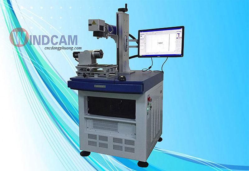 Ứng dụng trục xoay máy Laser