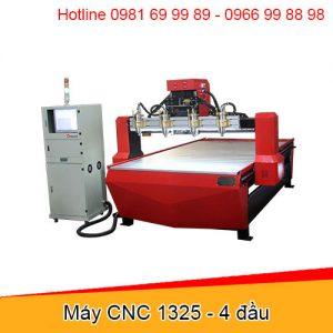 Máy cnc gỗ 3Wind 1325-4 đầu - Đông Phương Hà Nội