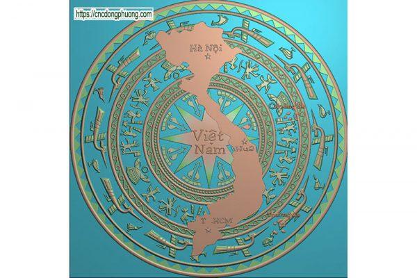 Mẫu Trống Đồng 4640