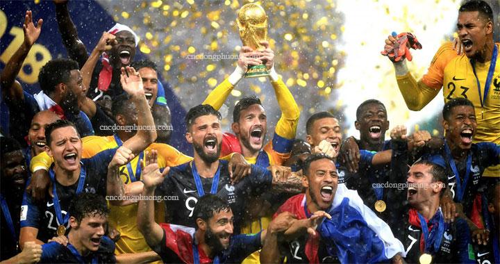 đội tuyển pháp vô địch world cup 2018