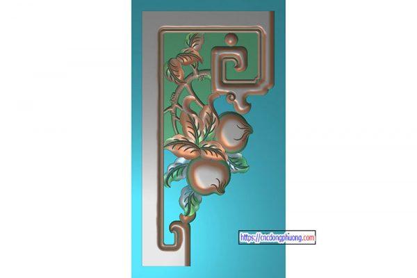 Mẫu hoa góc 6111