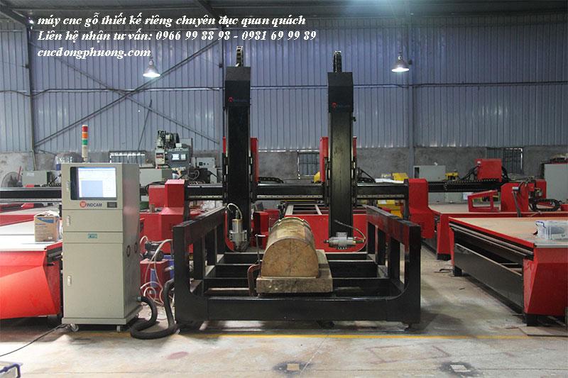 Máy cnc gỗ thiết kế chuyên đục quan quách chất lượng cao