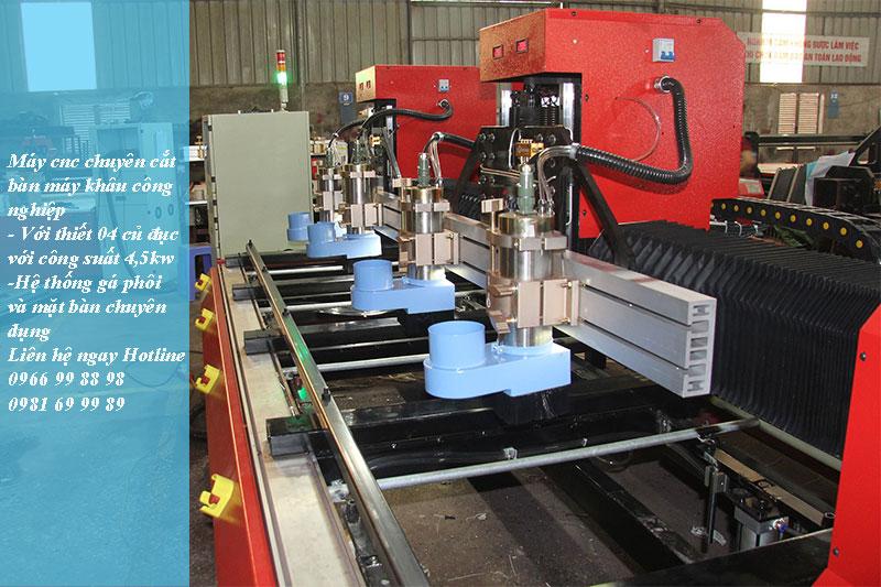 Dòng máy cnc chuyên cắt khắc bàn máy khâu độc quyền của công ty Đông Phương Hà Nội