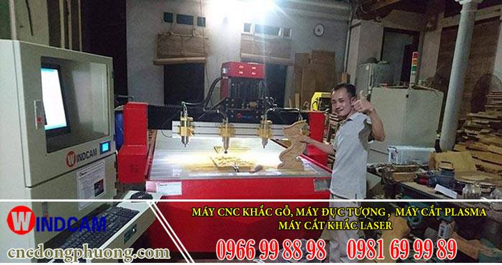 Phát triển nghề mộc bằng máy chạm khắc gỗ cnc tại Huế, Quảng Trị