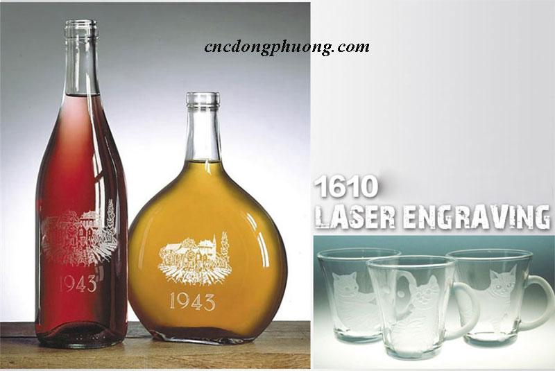 ứng dụng máy cắt khắc laser 1610