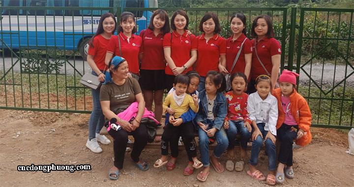 kinh doanh gắn liền với từ thiện của công ty Đông Phương