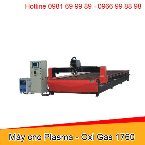 Máy cnc Plasma - Oxi Gas 1760