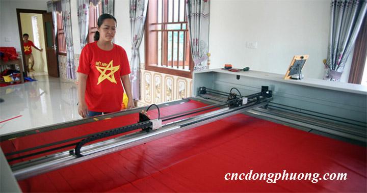 máy laser giá rẻ sản xuất băng rôn