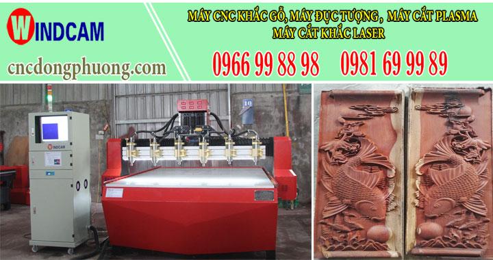 Mua máy đục tượng 4 trục, máy khắc gỗ 3d tại làng nghề gỗ Canh Nậu - Hà Nội3