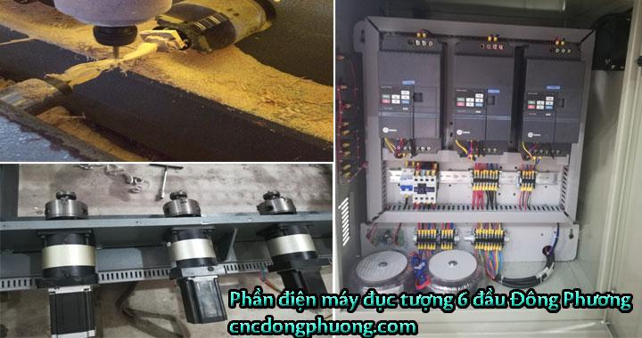 Phân tích cấu hình máy đục tượng cnc 4d Đông Phương HOT nhất 20194