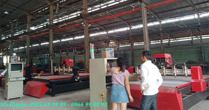 Hành trình vận chuyển máy đục cnc 3d 1325 về Phú Quốc, Kiên Giang