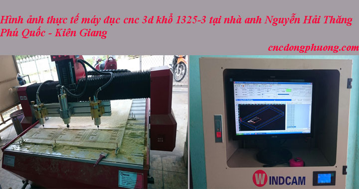 Hành trình vận chuyển máy đục cnc 3d 1325 về Phú Quốc, Kiên Giang2
